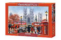 """Пазлы Касторленд на 3000 деталей. """"Вестминстерское аббатство"""". Польша. Гарантия. Бесплатная доставка."""