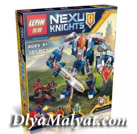 Конструктор лего нексо Nexo 385 деталей 14008 Королевский Мех
