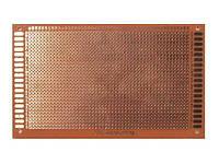 PCB макетная монтажная плата 9х15см