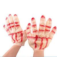 Латексные Перчатки резиновые - оригинальный аксессуар для вашего образа на Хэллоуин
