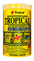 Корм для аквариумных рыб Tropical 21L /4kg  (хлопья) корм с выс.содерж.белка