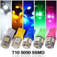 Cветодиодные лампы безцокльные габаритные 5SMD