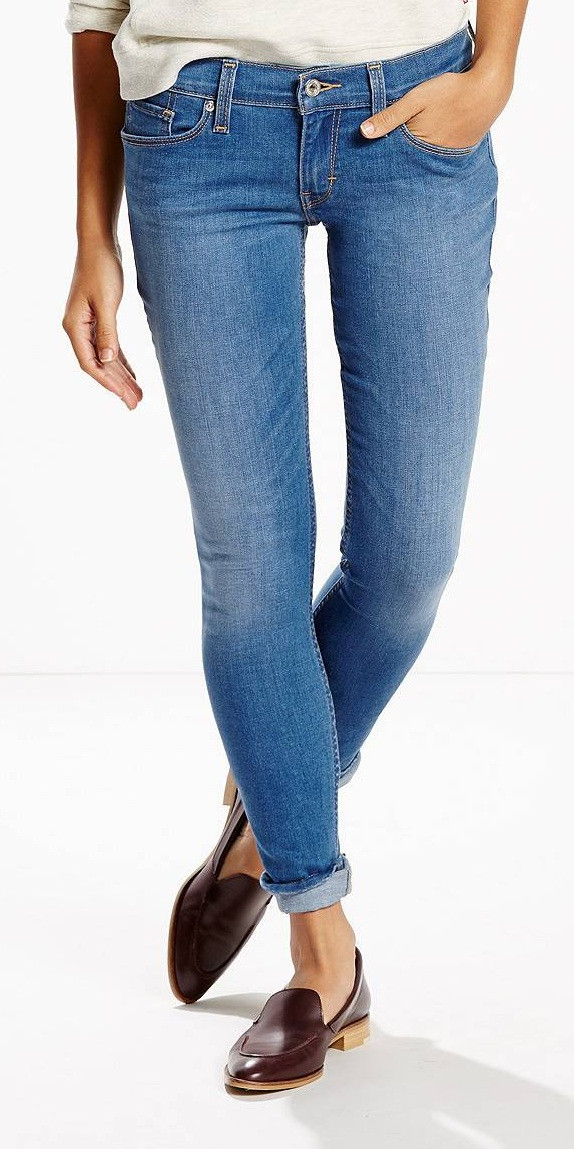 Джинсы Levi's 524 Skinny, Local Girl