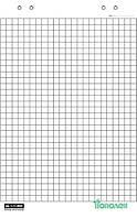 Блок бумаги для флипчартов, 10 листов, 64 х 90 см