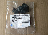 Пистон Aveo багажника 10шт 94530432 пластик черный обшивка клипса Авео, фото 2