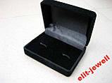 Запонки з сталі в подарунковому футлярі, фото 2