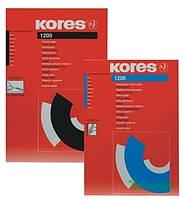 Бумага копировальная Kores 7528942 20 листов черная