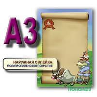 """Доска А3 """"Расписание уроков""""+маркер+салф. 070203KZ01"""