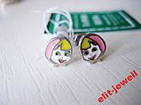Детские серебряные серьги Маша, фото 3