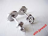 Детские серебряные серьги Маша, фото 4