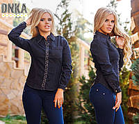 Рубашка джинсовая № ат3295