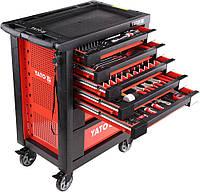 Сервисный шкаф с инструментами 211пр.
