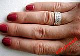 Женское серебряное кольцо Злата , фото 2