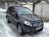 Мухобойка-дефлектор Nissan Qashqai I 2007-2009