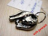 Серебряный подвес Пантера в коробочке, фото 5