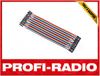 10x Dupont Дюпон кабель папа-мама 10см для Arduino