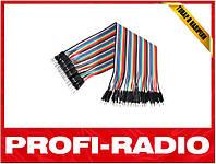 10x Dupont Дюпон кабель папа-папа 20см для Arduino