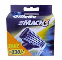 "Картридж Gillette ""Mach3"" (12)"