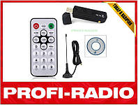 USB DVB-T RTL2832U+R820T SDR приёмник 24-1750Мгц