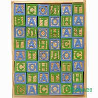 Кубики деревянные с украинским алфавитом 1Вересня 950023
