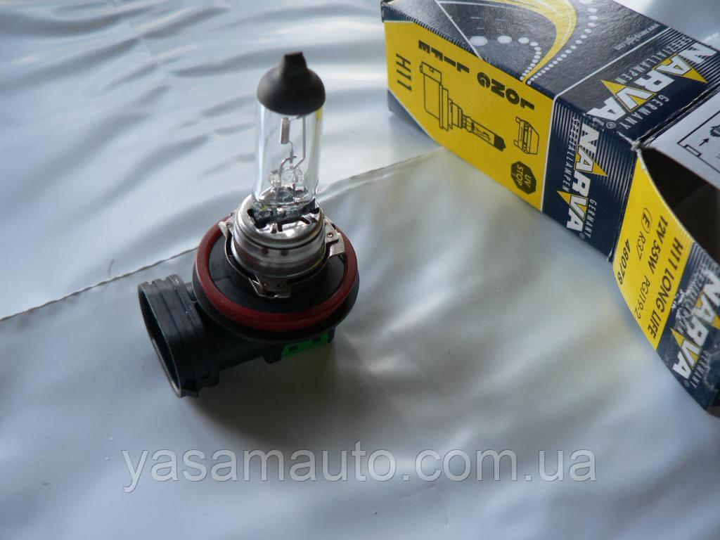 Лампа галогеновая H11 Narva Long Life 12в 55вт 1шт Н11 48078