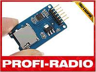 Модуль micro SD card reader кардридер Arduino