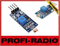 Датчик света, фотодиод,  модуль Arduino