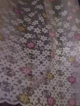 "Тюль жаккард ""цветочки"", фото 2"
