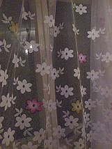 "Тюль жаккард ""цветочки"", фото 3"