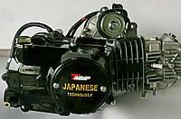 Двигатель ТММР Racing АЛЬФА Дельта-125 алюминиевый цилиндр механика чёрный NEW