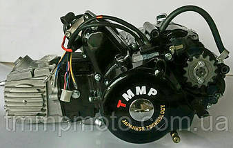 Двигатель Дельта-125см3 157FMH ТММР Racing полуавтомат чёрный, фото 2