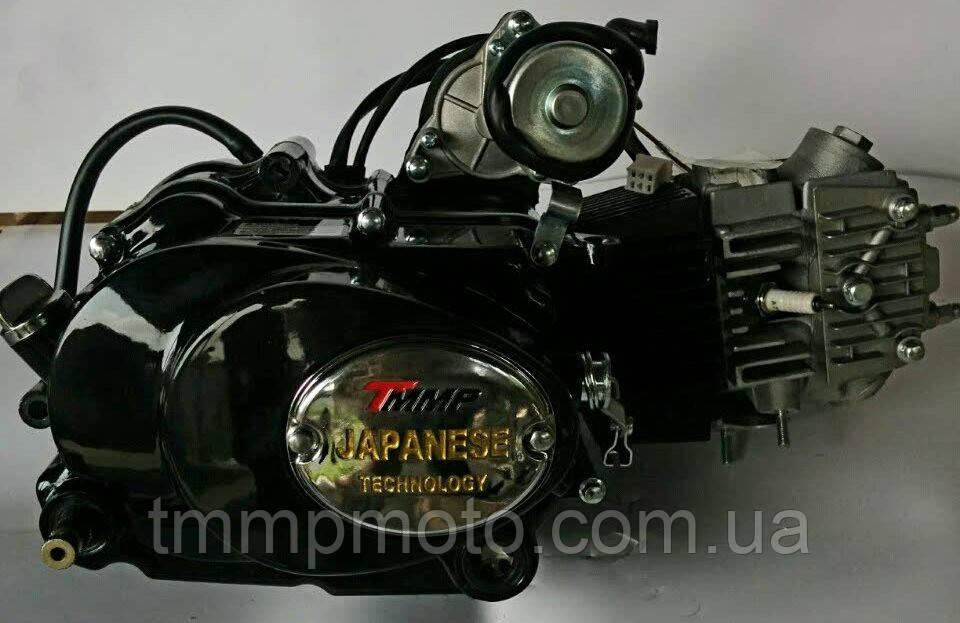 Двигатель Дельта-125см3 157FMH ТММР Racing полуавтомат чёрный