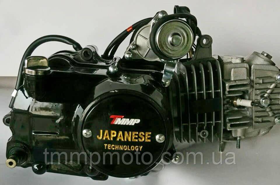 Двигатель Дельта/Альфа-125 сс Racing 54см алюминиевый цилиндр полуавтомат  чёрный NEW
