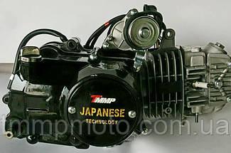 Двигатель SUPER ТММР Racing Дельта-125см3 54мм алюминиевый цилиндр полуавтомат  чёрный NEW, фото 3