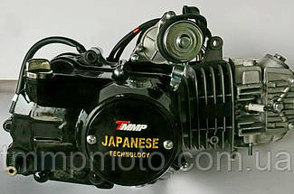 Двигатель Дельта/Альфа-125 сс Racing алюминиевый цилиндр полуавтомат  чёрный NEW, фото 3