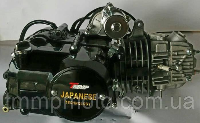 Двигатель SUPER ТММР Racing Дельта-125см3 54мм алюминиевый цилиндр полуавтомат  чёрный NEW, фото 2