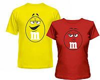 Парные футболки Ммдемс