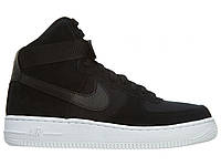 Мужские кроссовки Nike Air Force 1 Mid (Gs) Style Number: 653998-009 / Color: BLACK - WHITE