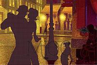 Схема для вышивки бисером Ночные танцы