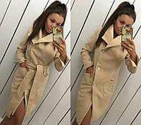 Пальто женское кашемировое в расцветках 12046, фото 1