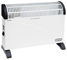 Конвектор отопления электрический с тепловентилятором Rotex RCX-201H мощностью 2,0 кВт
