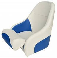 Кресло Ocean бело-синие 1002153 с системой flip-up