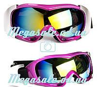 Маска гірськолижна/лижні окуляри Spyder Pro з подвійним склом: фіолетовий (Violet)