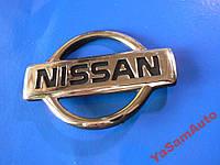 Эмблема z NISSAN 74х104мм наклейка авто НИССАН штыри, фото 1