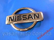 Эмблема z NISSAN 74х104мм наклейка авто НИССАН штыри
