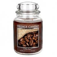 """Ароматическая свеча в стекле Village Candle """"Кофейные зерна"""". 740 гр/ 170 часов"""