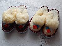 Женские тапочки из овечьей шерсти очень теплые, фото 1