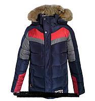 Зимняя куртка для мальчиков,  7-12 лет.