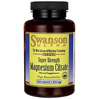 Сверхэффективный Цитрат Магния, 225 мг 120 таблеток