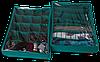 Комплект органайзеров (2шт) для нижнего белья,с крышками. цвет Лазурь